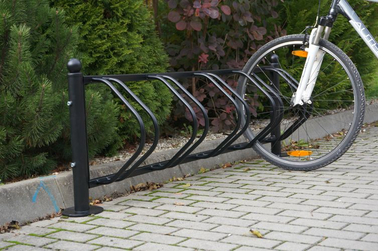 Karat Retro Bicycle Stand For 5 Bikes Bicycle Stands And