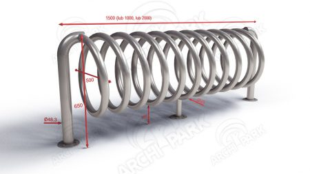 spiral bike stand B1 gallery tech